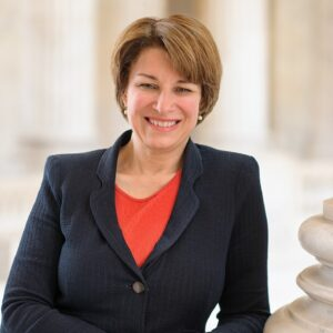 Amy Klobuchar's headshot.'