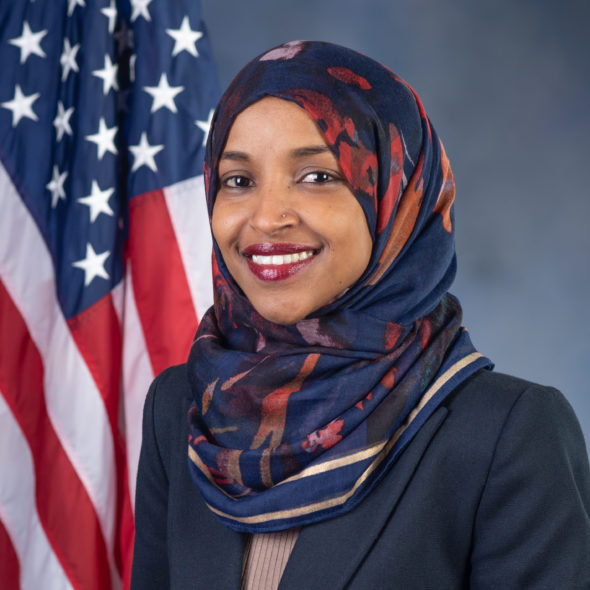 Ilhan Omar is the first Somali-American elected  to U.S. Congress placeholder image.