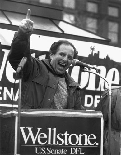 Paul Wellstone elected to U.S. Senate Only candidate to defeat an incumbent that election year placeholder image.
