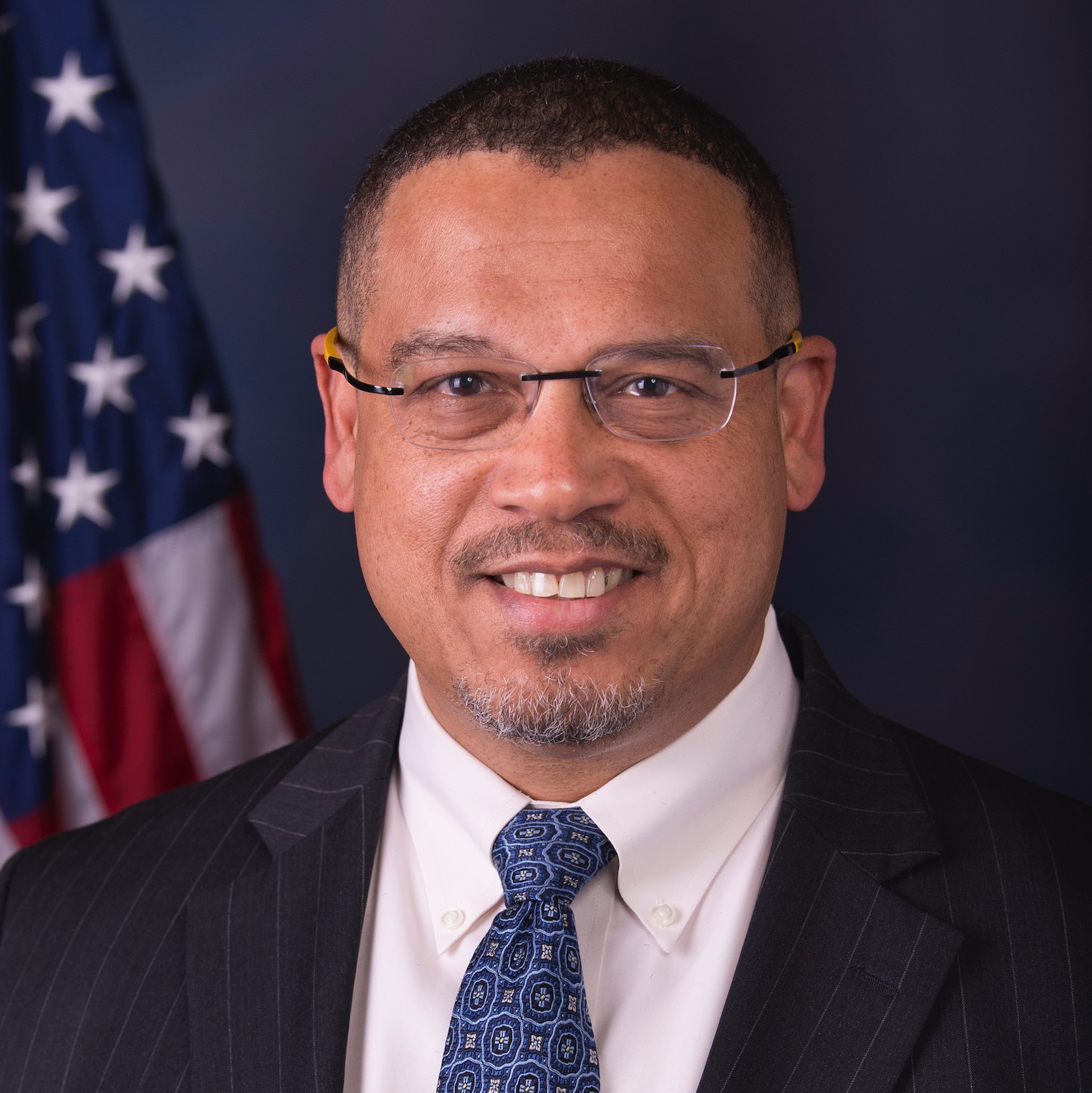 Keith Ellison's headshot.'