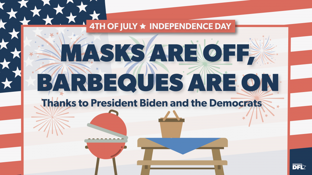 DFL masks are off BBQs are on